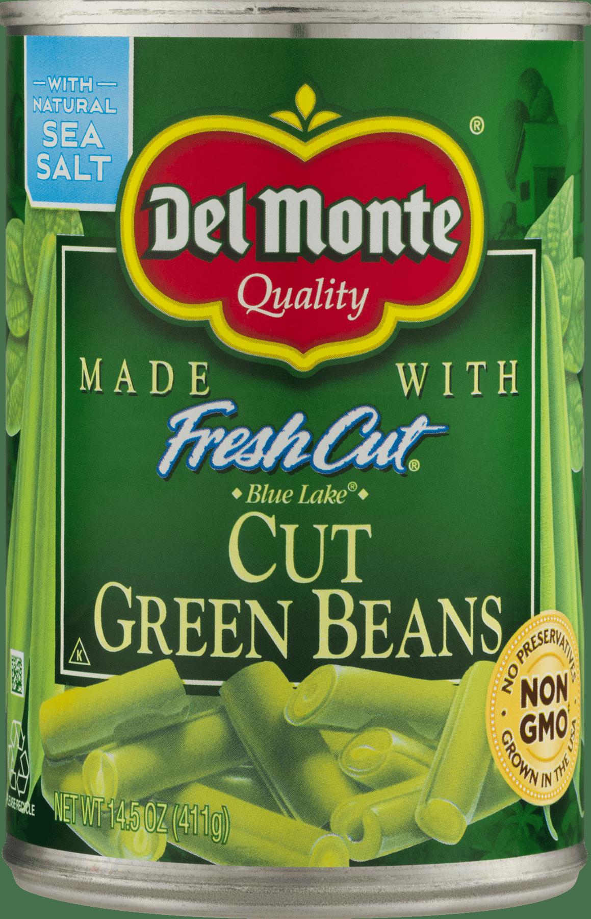 Del Monte Green Beans Cuts, 14.5 Oz by Del Monte Foods Inc