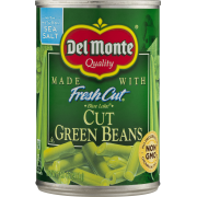 Del Monte Green Bean Cuts, 14.5 Oz Can