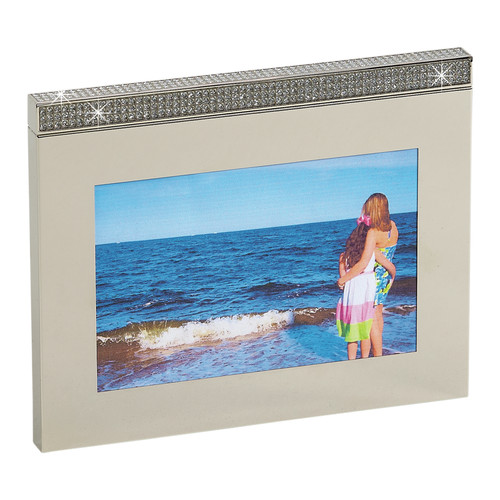 Creative Gifts International Glitter Galore Dual Facet Picture Frame
