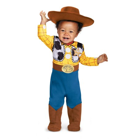 1 Month Old Baby Costumes (Woody Deluxe Baby Halloween Costume - Toy)