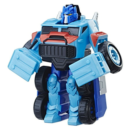 Playskool Heroes Transformers Rescue Bots Optimus (Heroes Of The Storm Prime Evil Diablo)