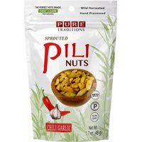 Sprouted Pili Nuts Chili Garlic 1.7 oz