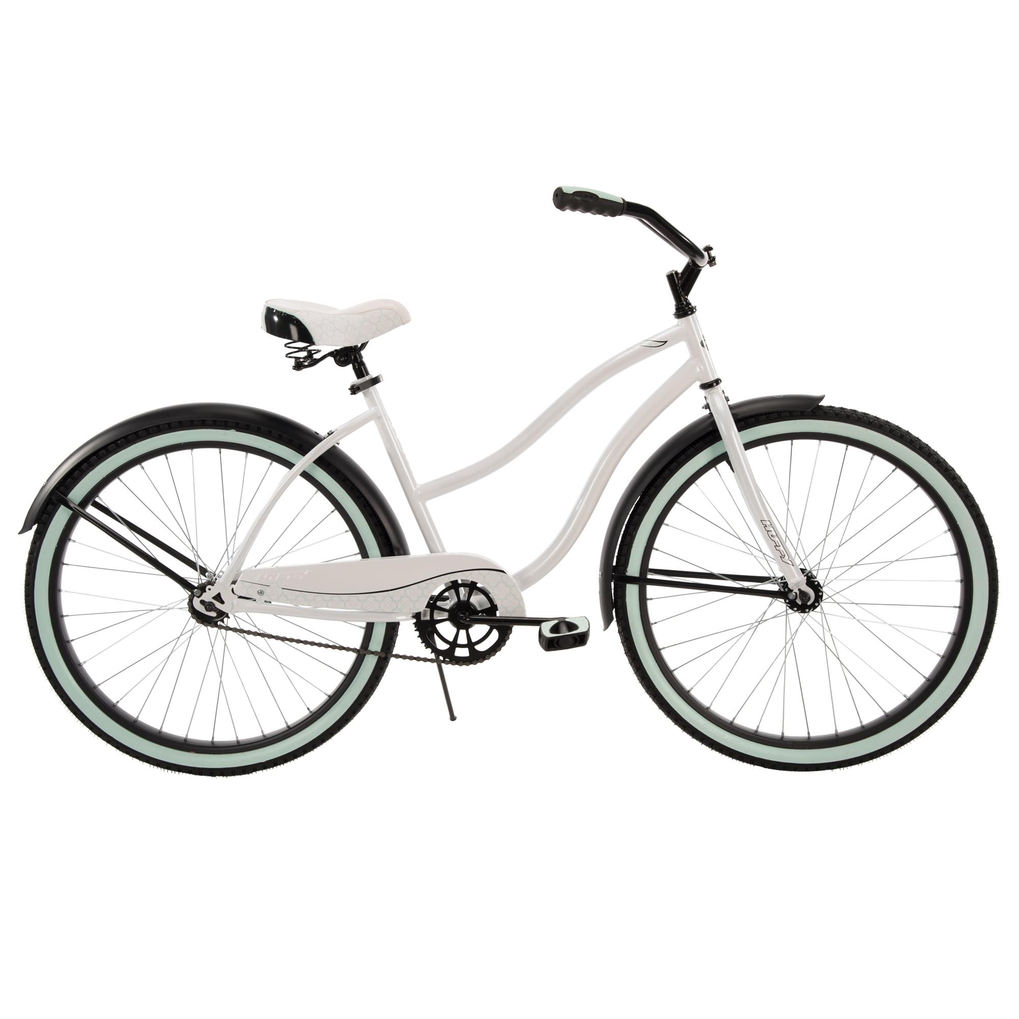 """Huffy 26"""" Cranbrook Women's Cruiser Bike, White"""