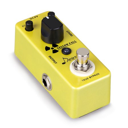 Donner Yellow Fall Vintage Pure Analog Delay Guitar Effect Pedal True - Vintage Guitar Effects Pedals