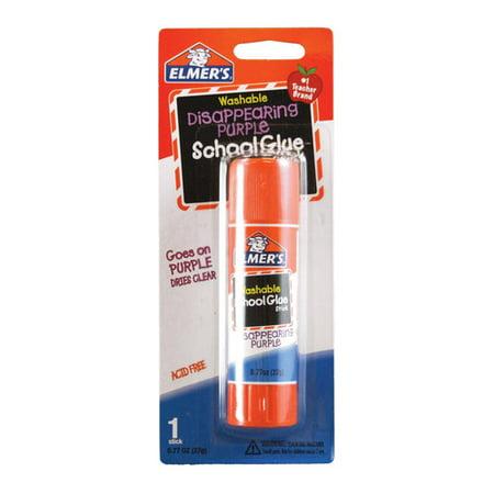 Elmer's Disappearing Purple Washable Large School Glue Sticks, 0.77 Ounces, 1 Count (Uhu Large Glue Sticks)