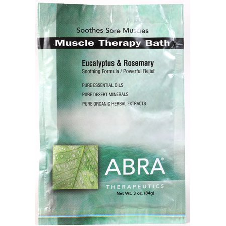 Muscle Therapy Bath Abra Therapeutics 3 oz Packet