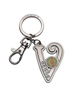 Product Image Tinker Bell Letter V Pewter Keyring. Disney 3d05445890