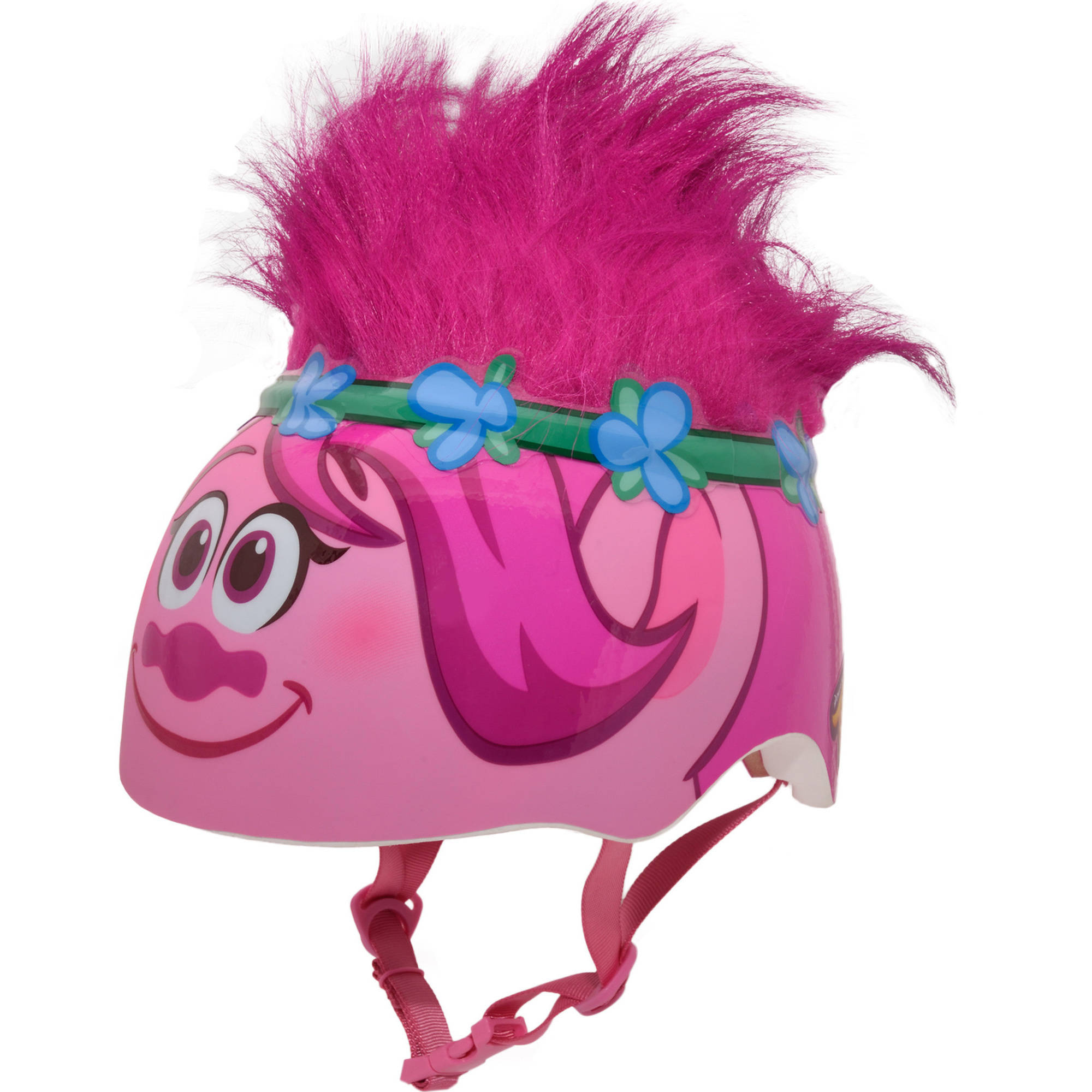 Bell DreamWorks Trolls Poppy Hero Bike Helmet, Child 5+ (50-54cm)