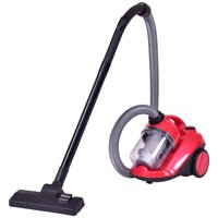 Product Image Costway Vacuum Cleaner Canister Bagless Cord Rewind Carpet Hard Floor W Washable Filter