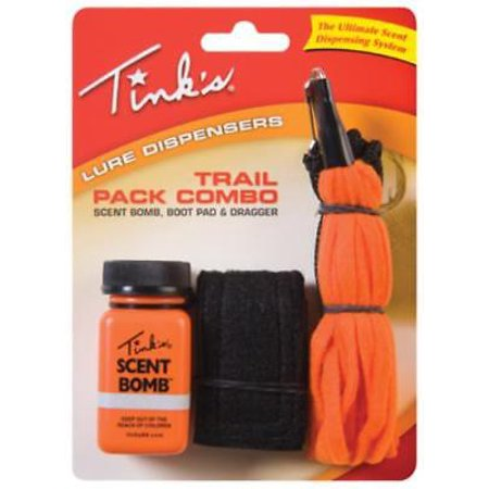 2PK Trail Attractant Kit Includes Scent Bomb Boot Pad & Drag thumbnail