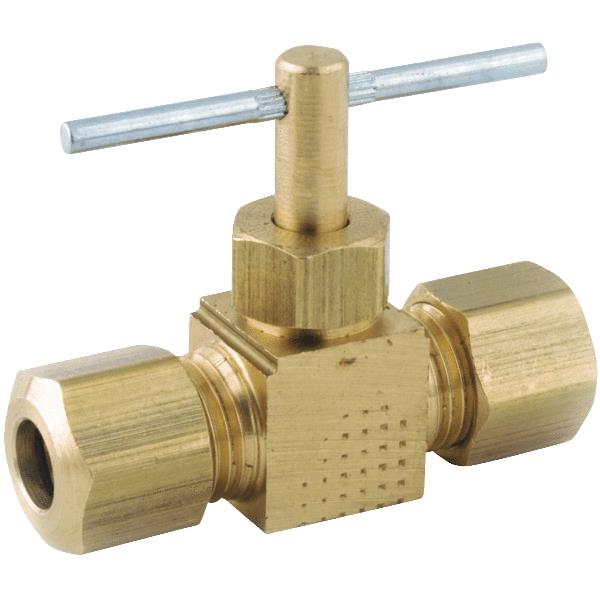 Low Lead Compression Straight Needle Valve