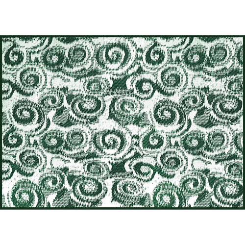 Camco Outdoor Mat, 8' x 16', Green Swirl