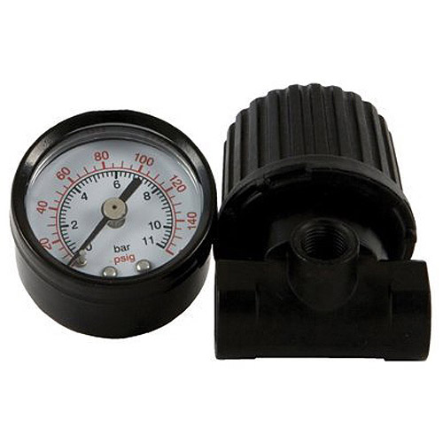 "Bostitch Air Regulator and Gauge, ??"" Threaded, #MREGULATOR"