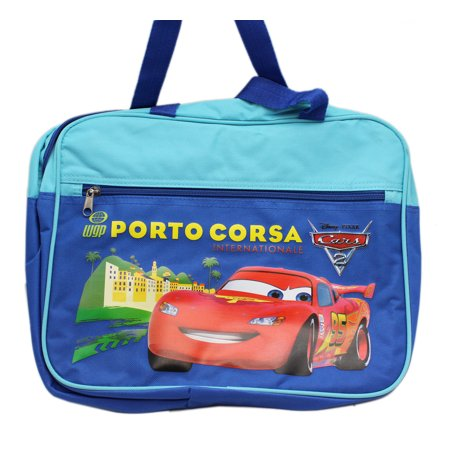 Disney Pixar's Cars 2 Porto Corsa Dual Shade Blue Laptop Carry Bag (Not Padded) (Disney Laptop Accessories)