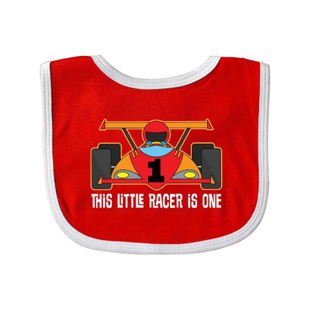 Racing Themed 1st Birthday Car Baby Bib (Racing Bits)
