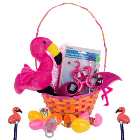 Girls Fun Flamingo 31pc Toy & Treat Filled 15