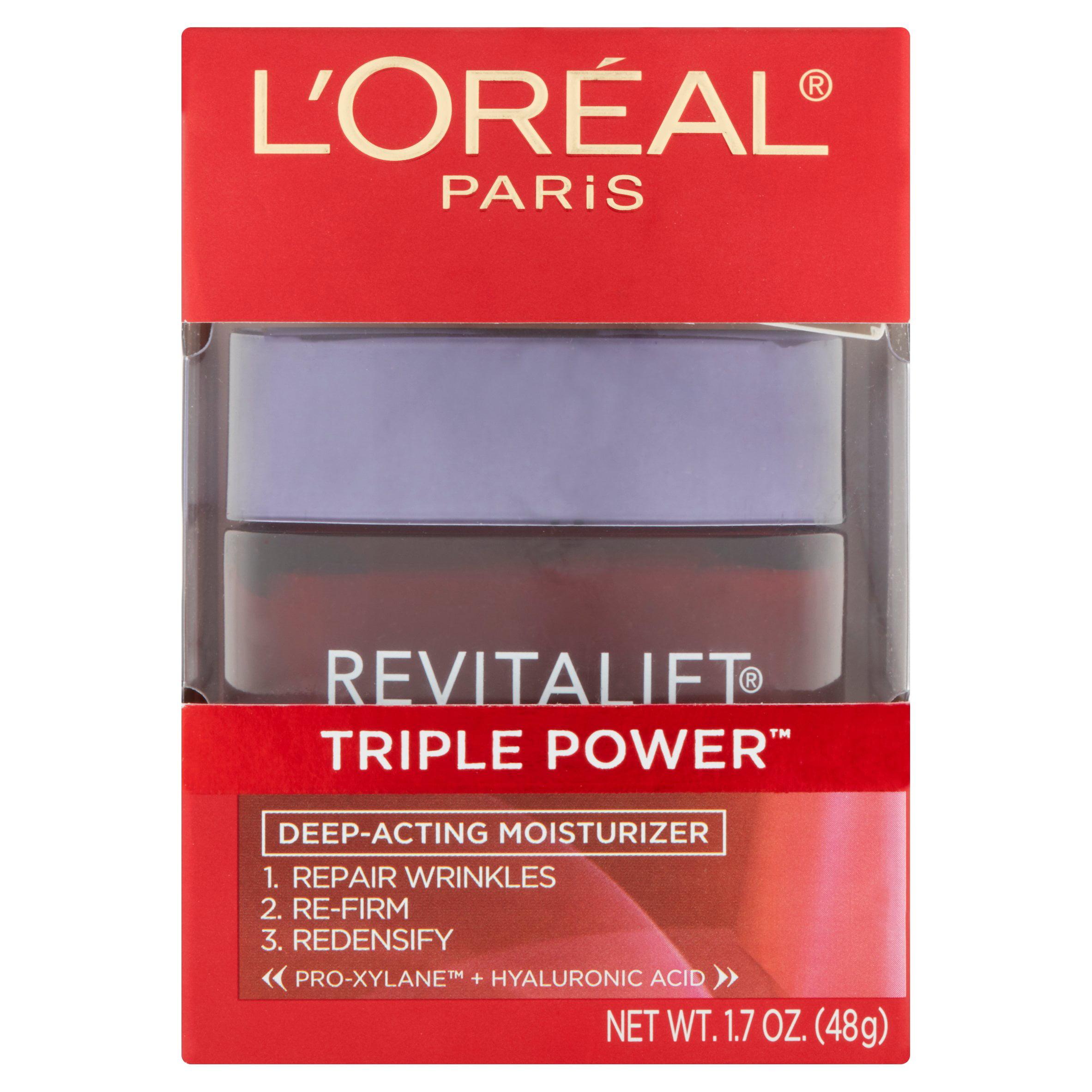L'Oreal Paris Revitalift Triple Power Deep Acting Moisturizer