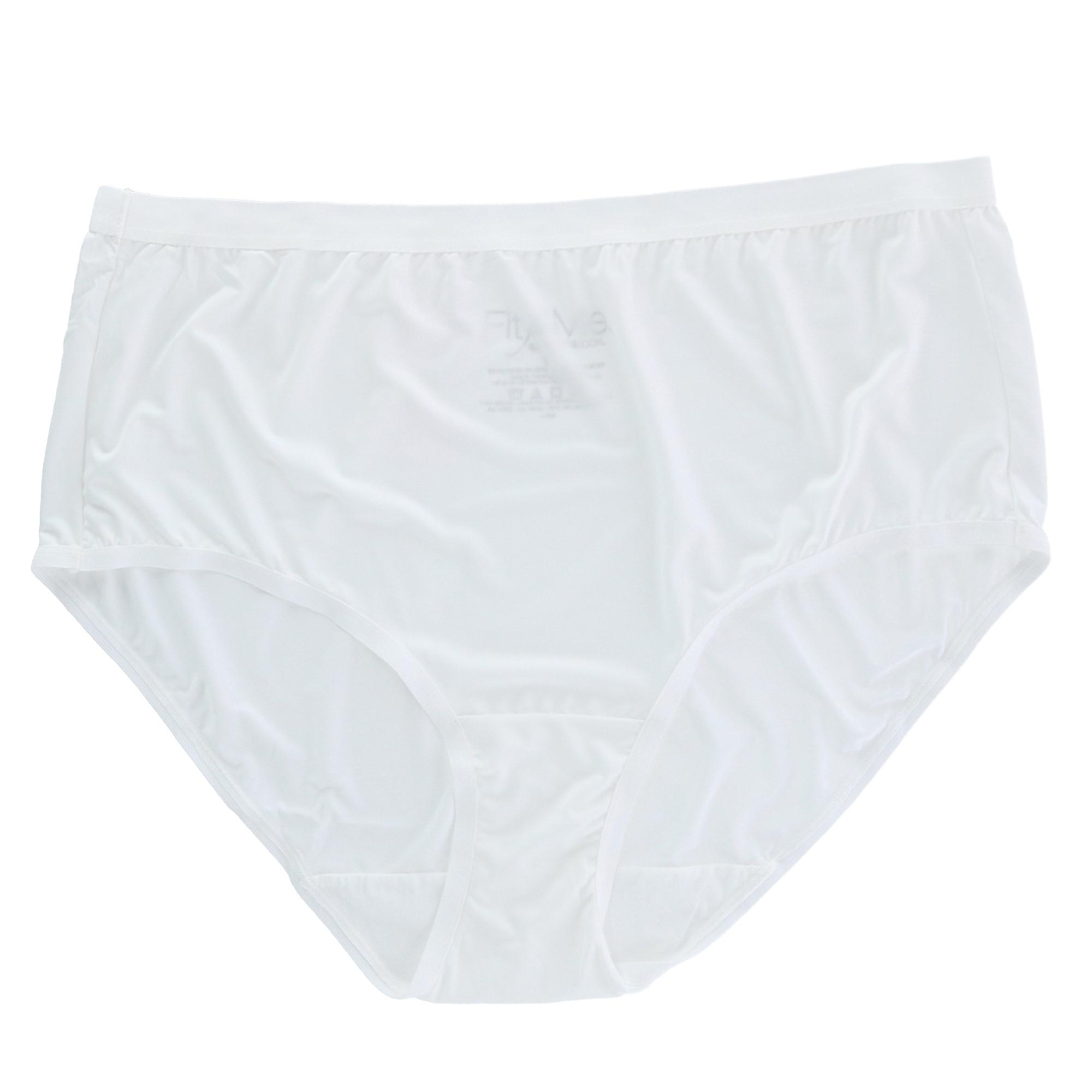 Fruit of the Loom Fit for Me Women`s 5PK Assorted Microfiber Brief, 12 - image 1 de 7