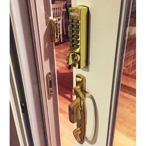 Lockey USA Mechanical Hook One Sided Keyless Deadbolt