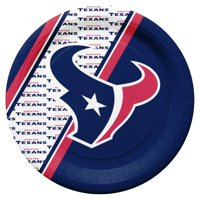 Houston Texans Disposable Paper Plates by Duck House