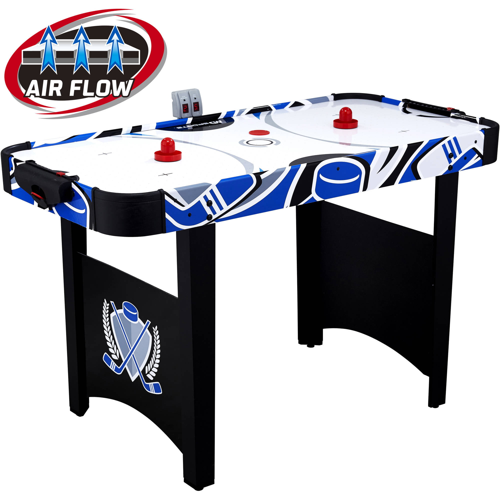Hathaway Midtown 6 Foot Air Hockey Family Game Table With Electronic  Scoring, High Powered Blower, Cherry Wood Tone, Strikers And Pucks    Walmart.com