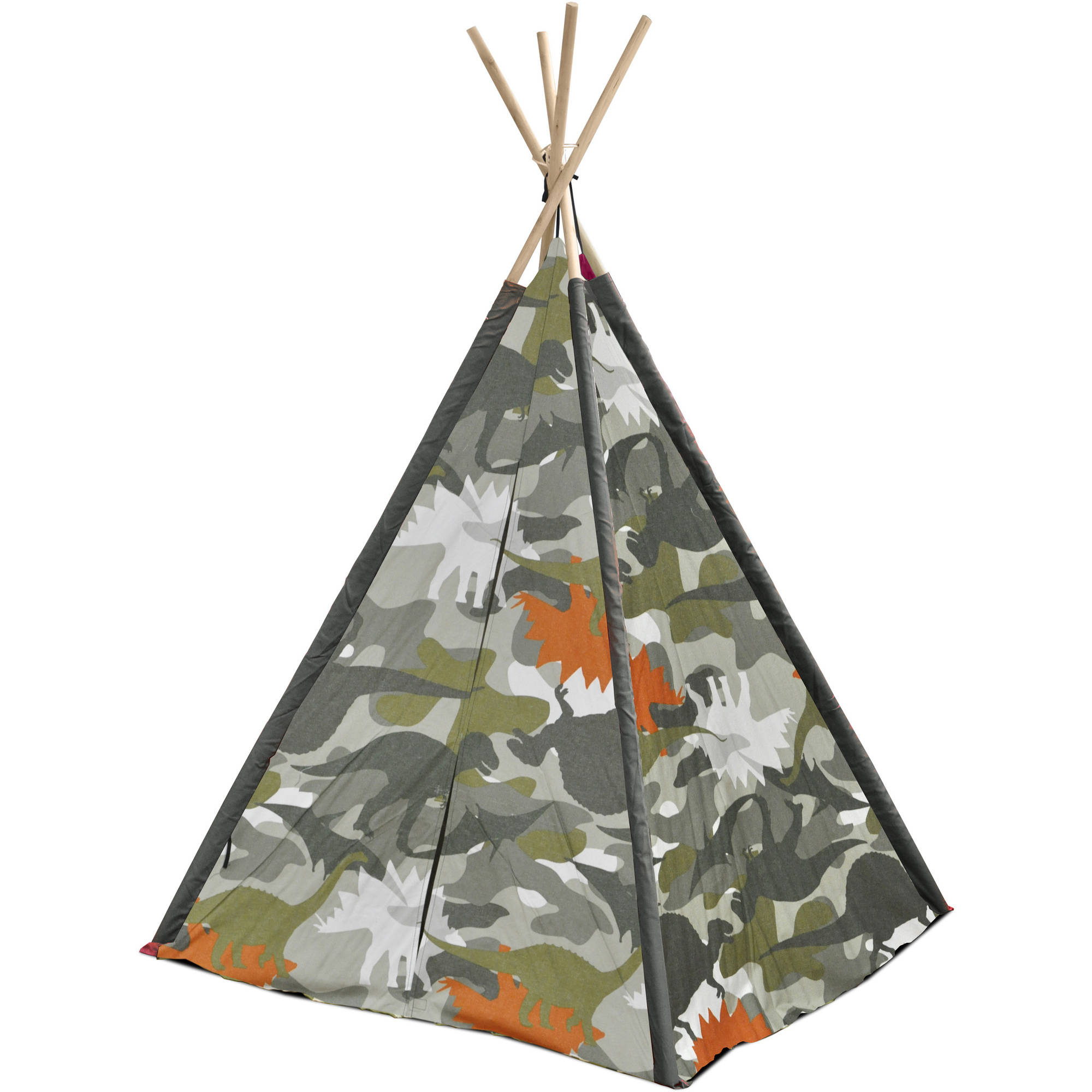 American Kids Tee-Pee Play Tent, Available in Multiple Prints