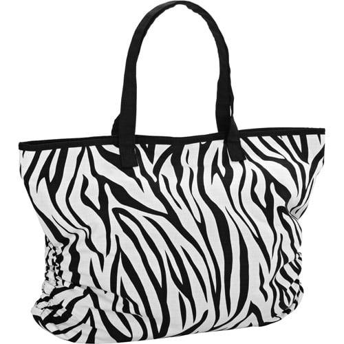 No Boundaries Zebra Tote Zebra