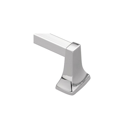 Donner Bath Furnishings Contemporary Wall Mounted Towel Bar by Moen