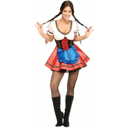 Adult St. Pauli Girl Beer Costume - Beer Garden Girl