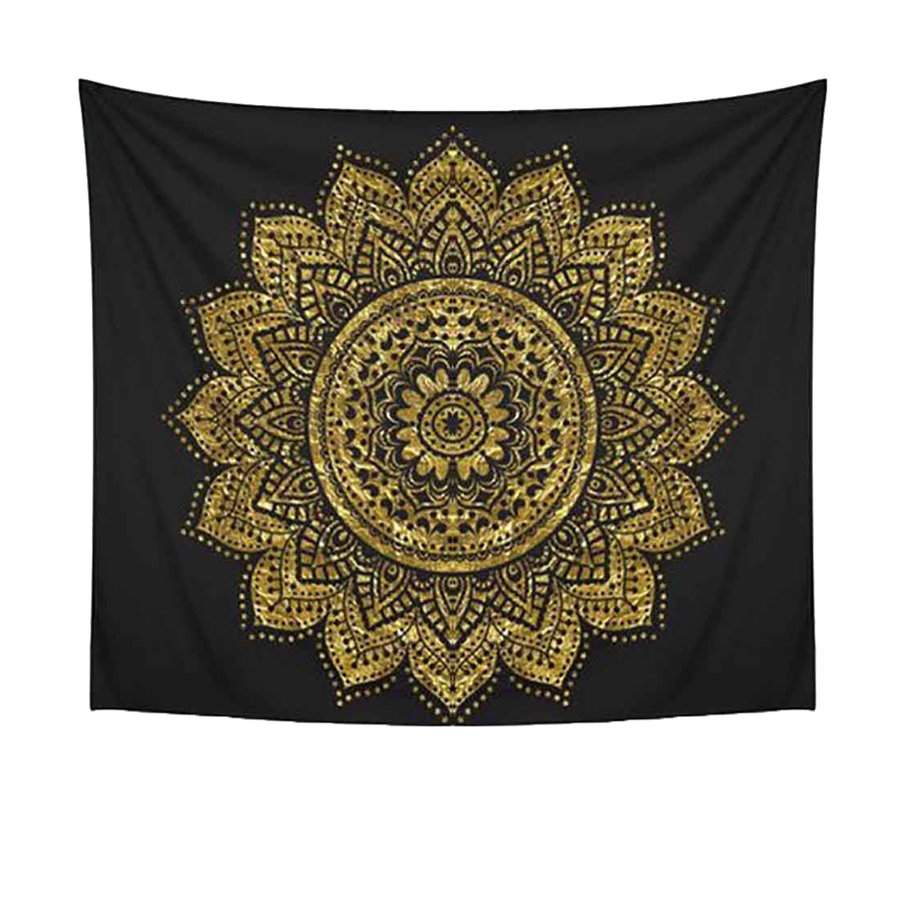 Aihome Geometric Mandala Tapestry Wall Hanging Mat by