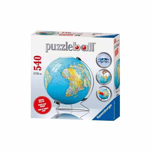 The Earth 540 pc 3D Puzzle by Ravensburger - 12427