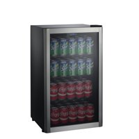 Deals on Galanz 110 Can Beverage Center GLB36S, Stainless Door Frame