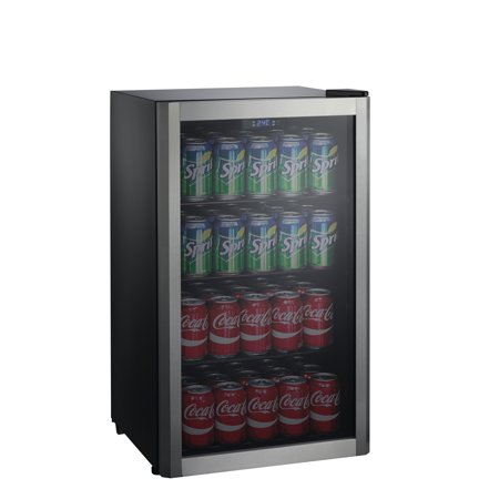 Galanz 110 Can Beverage Center GLB36S, Stainless Door Frame ()