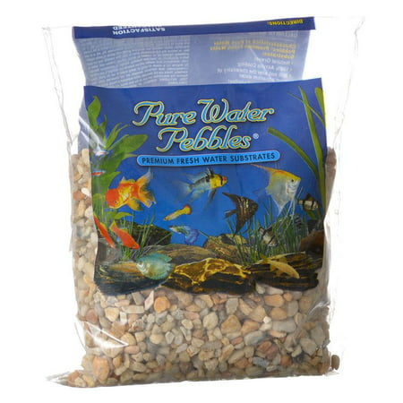 Pure Water Pebbles Aquarium Gravel - Carolina 2 lbs (Grain Size 3.1-6.3