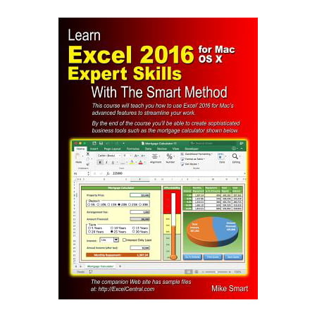 Learn Excel 2016 Expert Skills for Mac OS X with the Smart