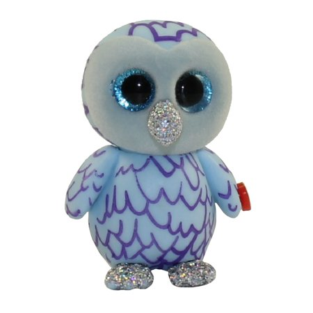 TY Beanie Boos - Mini Boo Figures Series 3 - OSCAR the Blue Owl (2 inch)