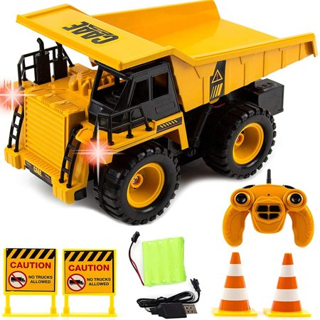 Toysery Remote Control Excavator Toy Truck for Kids | Full Functional RC Construction Tractor | Engineering Excavator Toy for Kids (Rc Pulling Tractor)