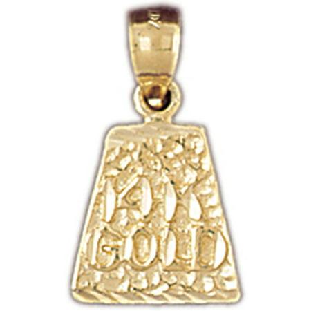 14k yellow gold 14k yellow gold nugget pendant 19 mm walmart 14k yellow gold 14k yellow gold nugget pendant aloadofball Images