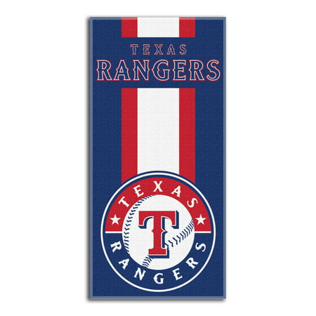 Rangers OFFICIAL Major League Baseball, Zone Read 30x 60 Beach Towel - by The Northwest Company