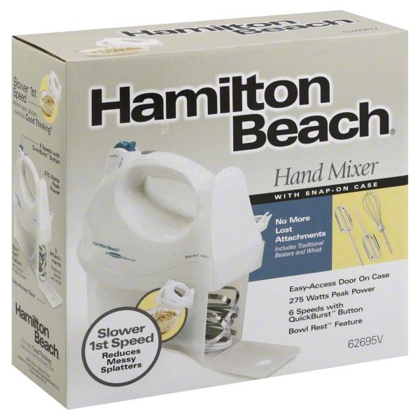 Hamilton Beach Power Deluxe Hand Mixer