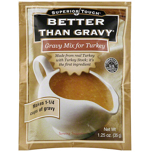 Superior Touch Turkey Gravy Mix, 1.25 oz (Pack of 12)