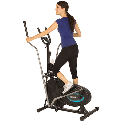 ProGear 300LS Extended Capacity Air Elliptical with Heart Pulse Sensors