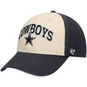 Dallas Cowboys '47 MVP Saga Adjustable Hat - Cream/Navy - OSFA