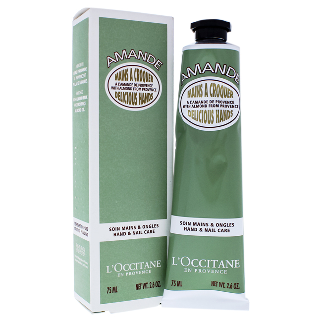 Almond Delicious Hands Cream by LOccitane for Unisex - 2.5 oz Hand Cream - image 1 de 1