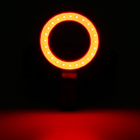 Sonew Cycling Bicycle Ring Taillights USB Charging Highlight Night Riding Warning Light, Cycling Taillight, Bicycle Ring Taillight - image 5 of 8