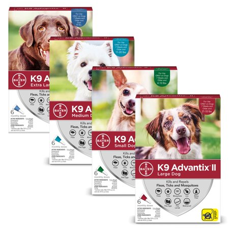 K9 Advantix Flea & Tick Treatment Discount 2 Pack Bundle (10% Off)