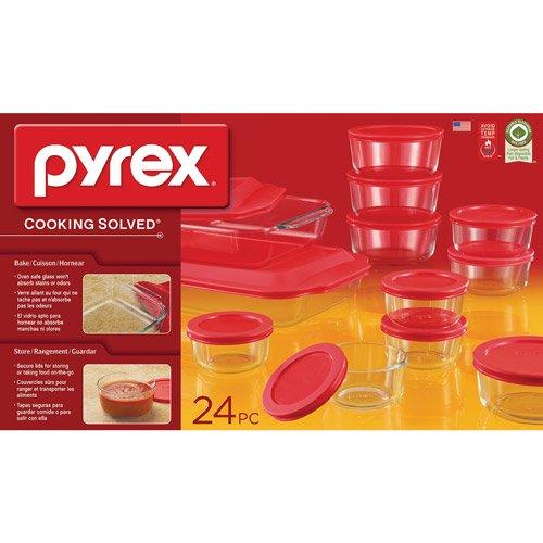 Pyrex 24 Piece Bake And Store Set