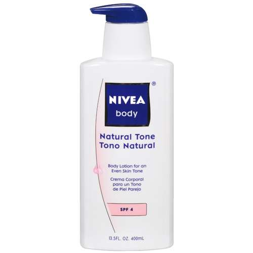Nivea Body Natural Tone Body Lotion, 13.5oz - Walmart.com