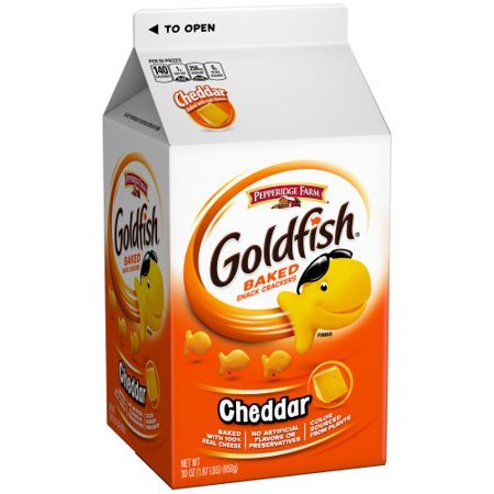 Pepperidge Farm Goldfish Cheddar Crackers, 30 oz. Carton ** AMAZING PRICE**
