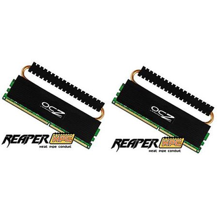 OCZ Reaper HPC Edition 2 GB (2 x 1 GB) 240-pin DDR2 800 MHz Dual Channel Memory (1 Gig Kit)